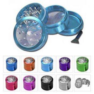 Transparante Metalen grinder